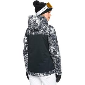 Roxy Jetty Block Snow Jacket Women, true black tiger camo